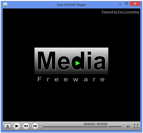 Free AVCHD Player Screen shot