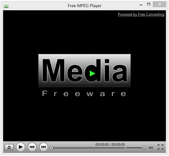 Click to view Free MPEG Player screenshots