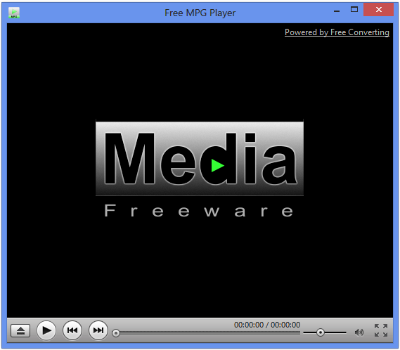 Click to view Free MPG Player screenshots