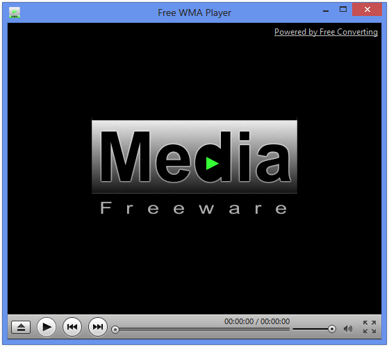 Free WMA Player Screenshot
